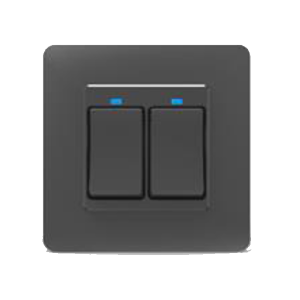 Wifi HQ-B Push Switch 2-Gang
