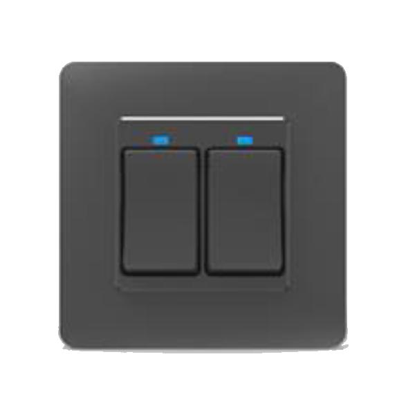 Wifi HQ-B Push Switch 2-Gang
