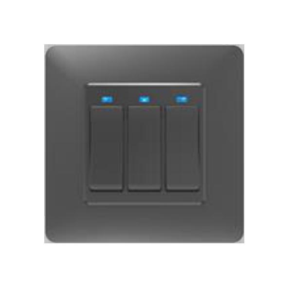 Wifi HQ-B Push Switch 3-Gang