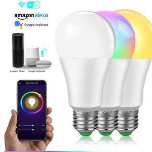 Wifi Smart RGBCW LED Bulb 9W-E27