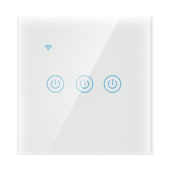 Wifi Touch Switch 3-Gang