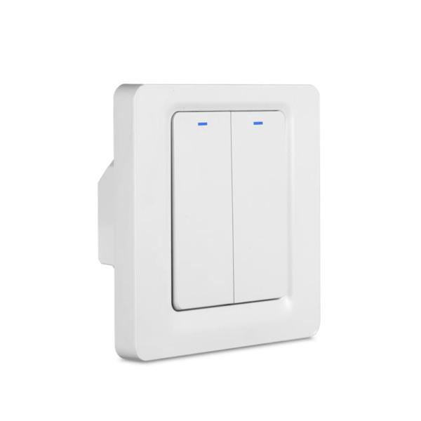 Zigbee-W Push Switch 2-Gang