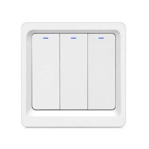 Zigbee-W Push Switch 3-Gang